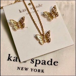 LAST ONE! Kate Spade butterfly set